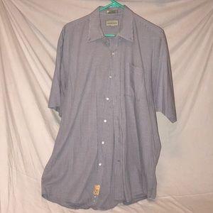 CUTTER & BUCK  shirt sleeve button down